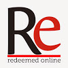 logo and link for Redeemed Online YouTube channel